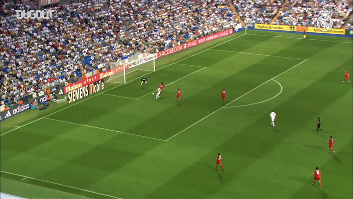 Real Madrid's best goals against Valladolid