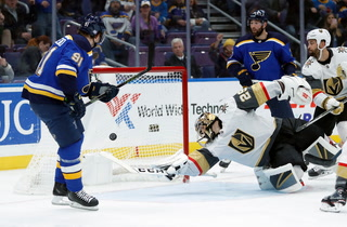 Golden Edge: Knights Feeling Blue After Loss In St. Louis
