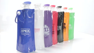 Flip-Top Folding Water bottle