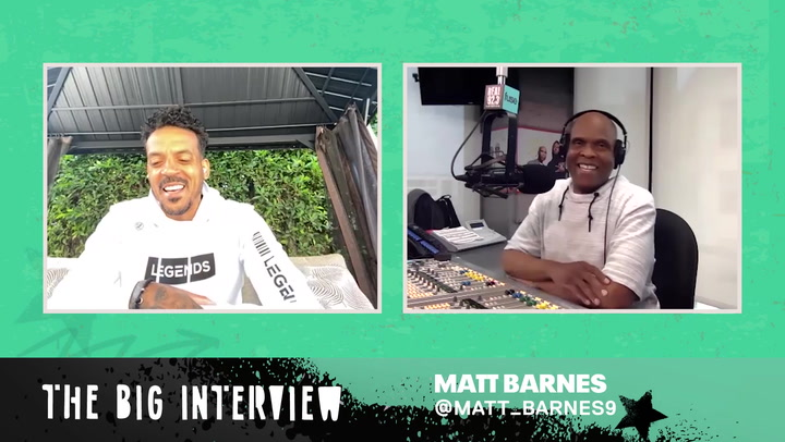Matt Barnes Shares His Personal Experience Racism