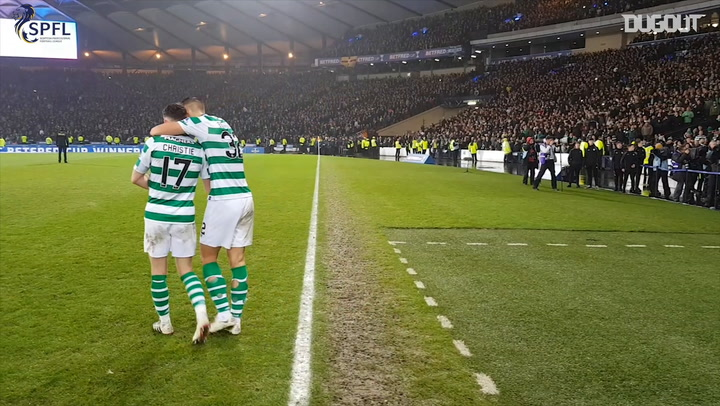Celtic Lift SPFL Betfred Cup 2018