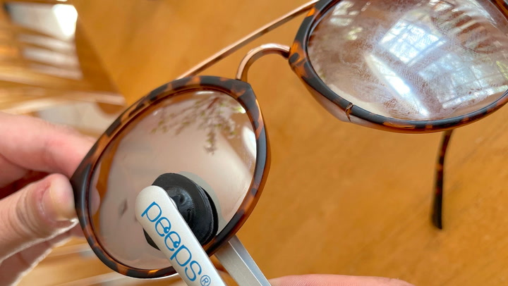 This lens-cleaning gadget is the perfect way to keep your glasses clean