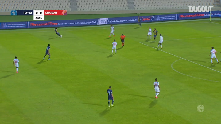 Arabian Gulf League: Al Sharjah 1-1 Hatta