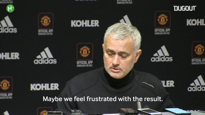 José Mourinho Frustrated With Mistakes But Hails Fantastic Spirit