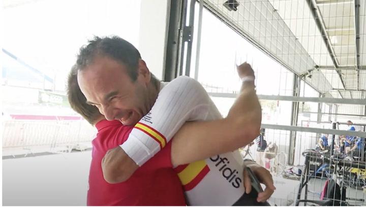 Vive desde dentro el histórico Mundial de la Selección Española de Ciclismo Adaptado