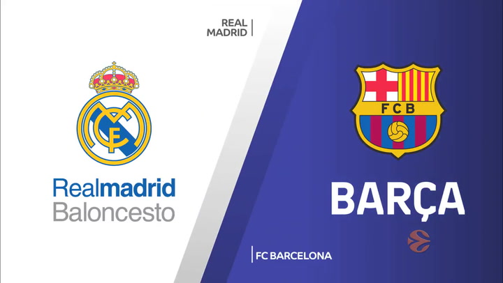 Euroliga Real Madrid - FC Barcelona