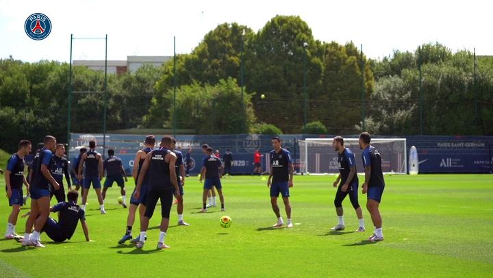 Gols, dribles e até carrinho: Mbappé nos treinos do PSG