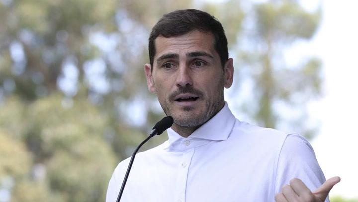 Las emotivas palabras de Iker Casillas al abandonar el hospital tras sufrir un infarto