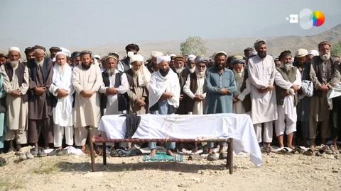 Denuncian la muerte de 25 aldeanos en un bombardeo de EEUU en Afganistán