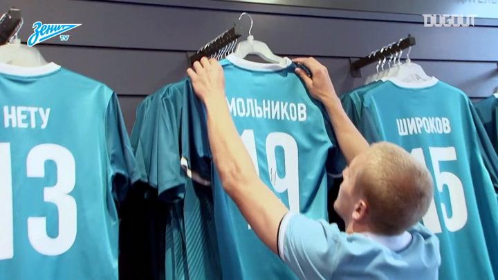 Igor Smolnikov's illustrious Zenit career