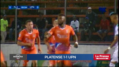 Platense 1-1 UPN