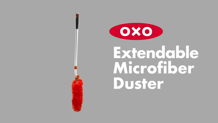 Preview image of OXO Good Grips Extendable Microfibre Duster video