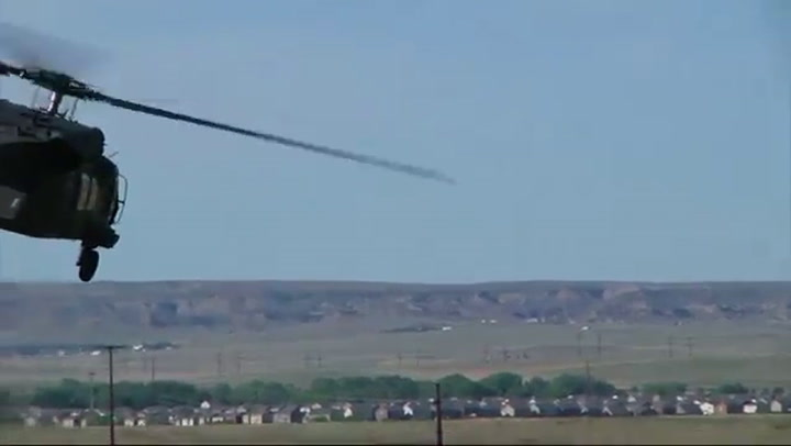 Pilot Ejects Into Field Before Thunderbirds Crash