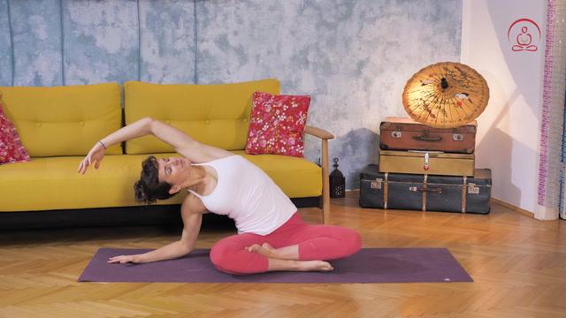 15 Min. Abend-Yoga