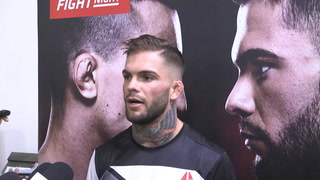 UFC bantamweight Cody Garbrandt wants to KO Thomas Almeida
