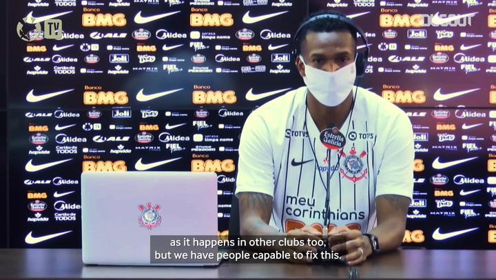 Jô on Corinthians return: 'I'm sure I made a great choice'