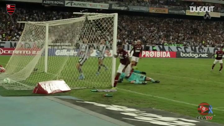 El gol de Lincoln en el triunfo del Flamengo ante el Botafogo