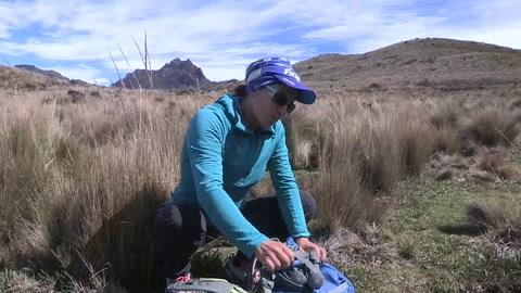 La primera latinoamericana en coronar el Everest