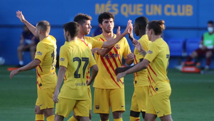 Barça-Nàstic Resumen del partido amistoso de pretemporada