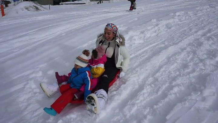 Georgina Rodríguez comparte una accidentada jornada en la nieve