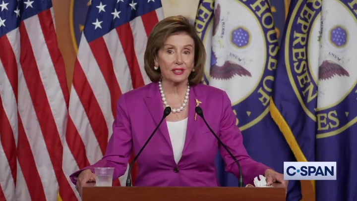 Nancy Pelosi stands by calling Kevin McCarthy 'moron' for opposing mask mandate