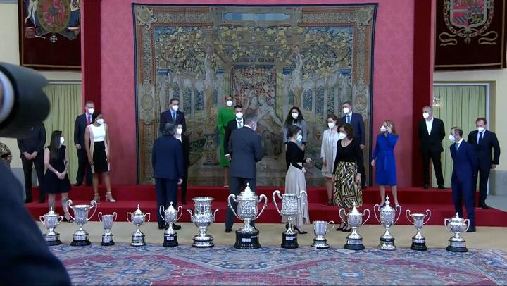 Entrega de los Premios Nacionales del Deporte 2018 en el Palacio Real de El Pardo