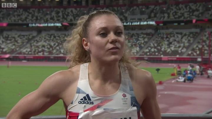 Olympic sprinter Beth Dobbin pays emotional tribute to best friend's NHS nurse mum
