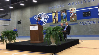 DWU/Avera Sport and Wellness Complex dedication