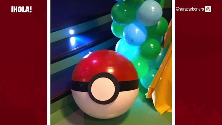 El cumpleaños Pokémon de Martín Casillas Carbonero