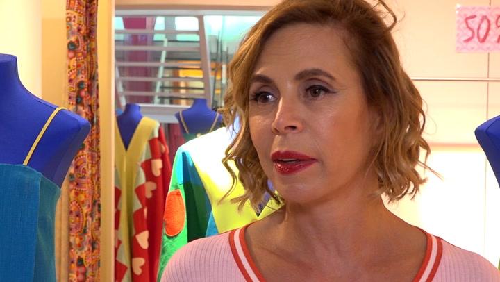 Ágatha Ruiz de la Prada, sobre el robo de un furgón con su ropa: \'Me estoy empezando a mosquear\'