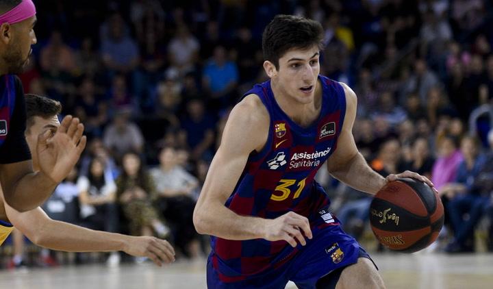 La eclosión de Leandro Bolmaro ante el Valencia Basket