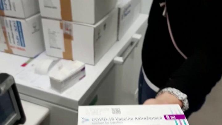 Así está siendo la llegada de vacunas de Astrazeneca a las CCAA