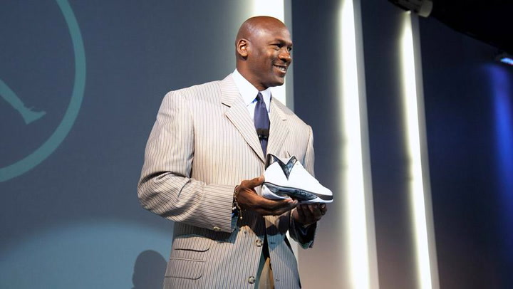 Michael Jordan on Brand Jordan