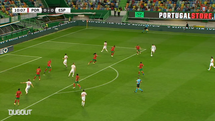 Highlights: Portugal draw against Spain at José Alvalade