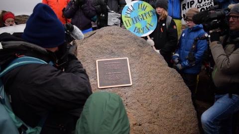 Islandia despidió a su primer glaciar desaparecido por calentamiento
