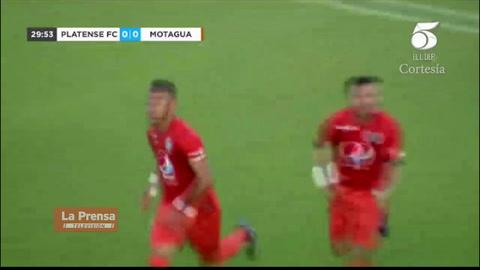 Video: Marco Tulio Vega anotó el 1-0 del Motagua ante Platense