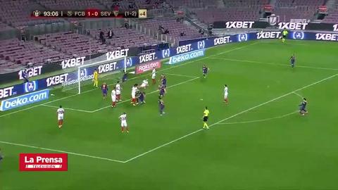 El gol de Piqué que salvó al Barcelona de la eliminación de la Copa