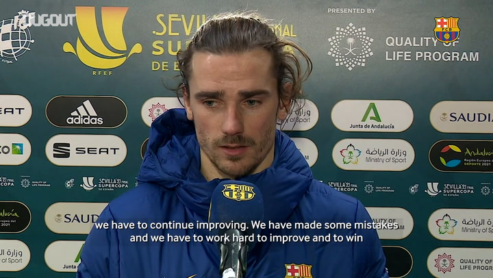 Antoine Griezmann: 'We are still alive in three competitions'