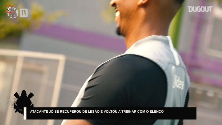 First training session of Jemerson and Jonathan Cafú at Corinthians