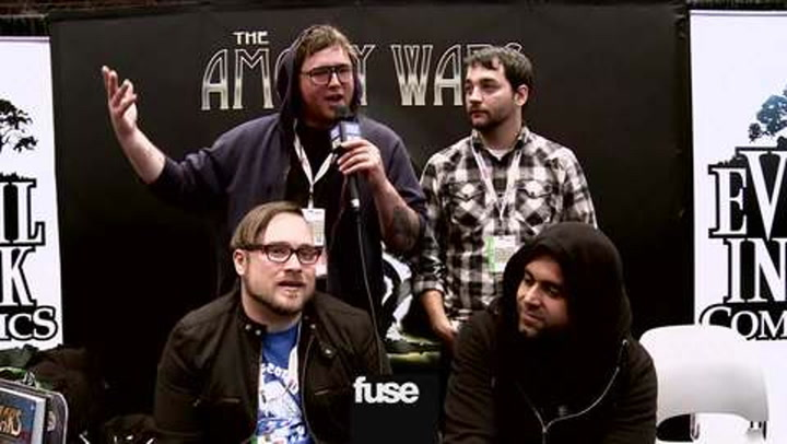Interviews: Coheed and Cambria Talk Comics at New York Comic Con