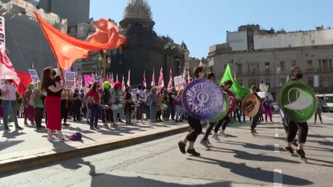Marchas por legalización del aborto en América Latina