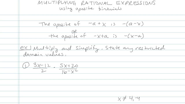 Multiplying and Dividing Rationals - Problem 8