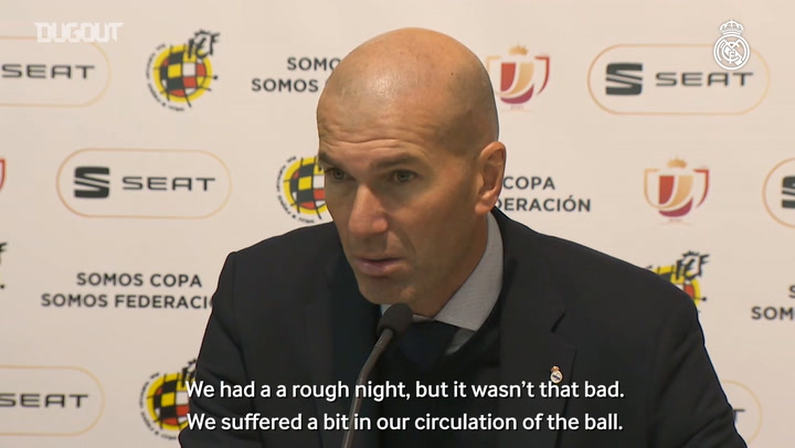 Zidane: 'We gave it everything we had and we're into the last 16'