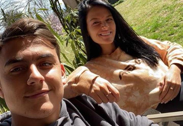 Oriana Sabatini anuncia su positivo y el de Paulo Dybala en Covid-19