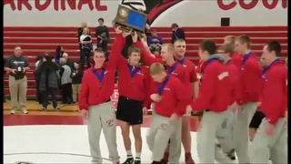 Willmar wrestlers  take Section 8AAA title for fifth year straight