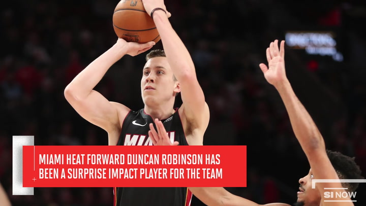 Miami Heat Forward Duncan Robinson Is No Longer A Surprise Sports Illustrated
