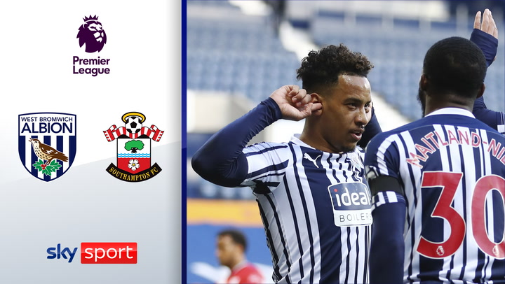Big Points im Abstiegskampf | Highlights: West Bromwich Albion - Southampton 3:0