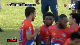 La UPNFM reacciona y consigue el empate ante Motagua con gol de Juan Ramón Mejía