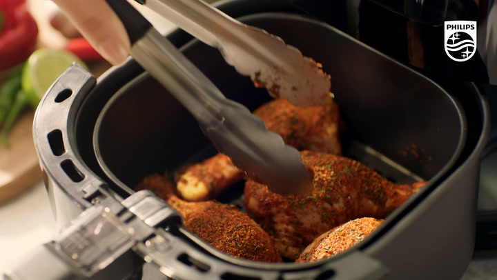 Preview image of Philips Essential Airfryer, 4.1L video
