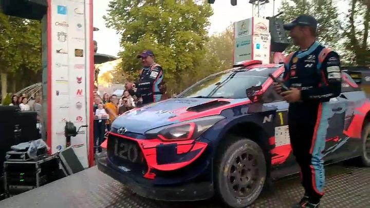 El piloto francés Sebastien Loeb (Hyundai) se impuso en el VI Rally de Tierra Ciudad de Granada